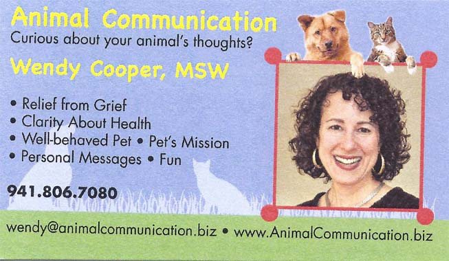Animal Communication by Wendy